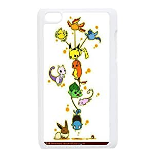 Pokemon Charmander Bulbasaur Mew Cute Eevee Pikachu protective case cover FOR IPod Touch 4LHSB9714524