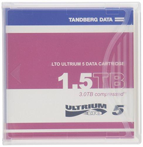 1PK LTO5 Ultrium 1.5/3TB Tape Cartridge by TANDBERG DATA