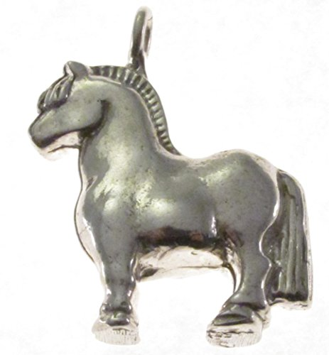 Sterling Silver Norwegian Fjord Horse ()