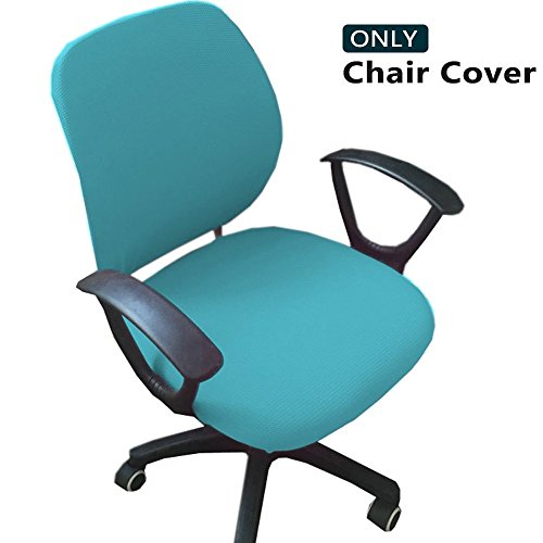 Melaluxe Computer Office Chair Covers - Protective & Stretchable Universal Chair Cover Stretch Rotating Chair Slipcover by Melaluxe