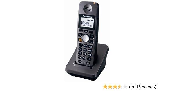 amazon com panasonic kx tga600b 5 8 ghz expandable digital rh amazon com