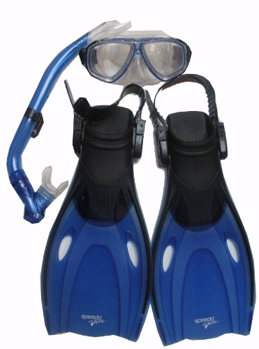 Speedo Dive Junior Speedo Reef Scout Mask, Snorkel, and Fin