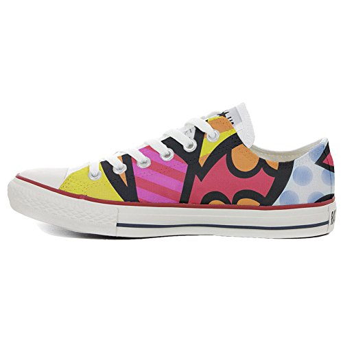 Converse All Star Chaussures coutume mixte adulte (produit artisanal) Slim Colors