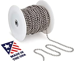 Beaded Ball #6 Chain - Stainless Steel 1...