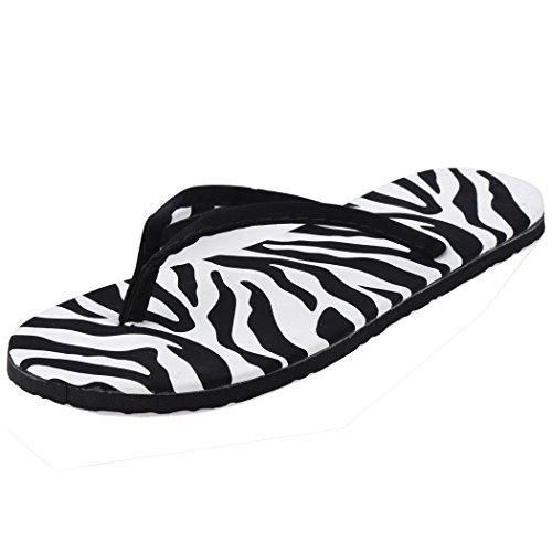 Aulei flip flops Damen Schuhe Sommer Strand zehentrenner Sandalen flache 90pAyNkIXs