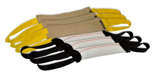 Dean & Tyler Bundle of 6 Tugs for Pets, 3-Leather and 3-Fire Hose, 12-Inch by 4-Inch by Dean & Tyler