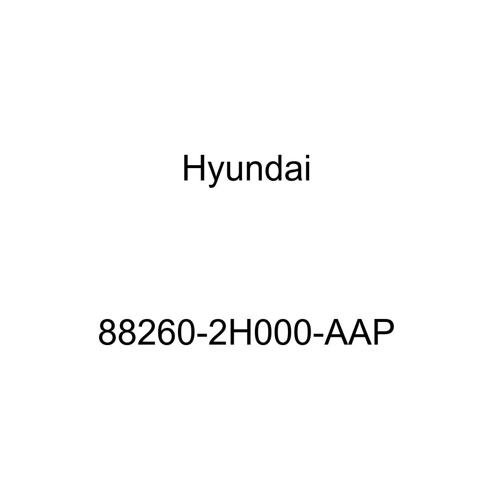 Front Genuine Hyundai 88260-2H000-AAP Seat Cushion Covering