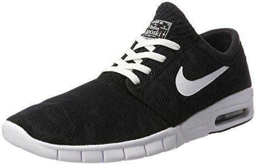 Nike Mens Stefan Janoski Max Black / Whitesneakers - 9.5 D (m) Ci