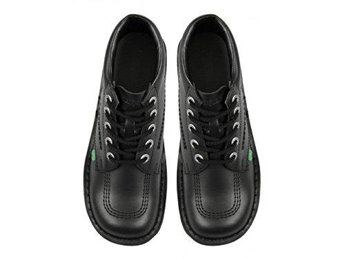 Kickers - Botas Chukka chica, color Negro, talla 38 EU