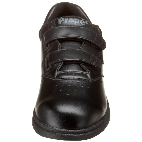 Propet Women's Vista Strap Sneaker Black Smooth cheap sale Inexpensive sale with paypal outlet 2014 new buy cheap eastbay 2015 online kejXYY5TC