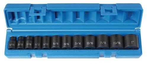 "Grey Pneumatic (1213) 3/8"" Drive 12-Piece Standard Socket Set from Grey Pneumatic"