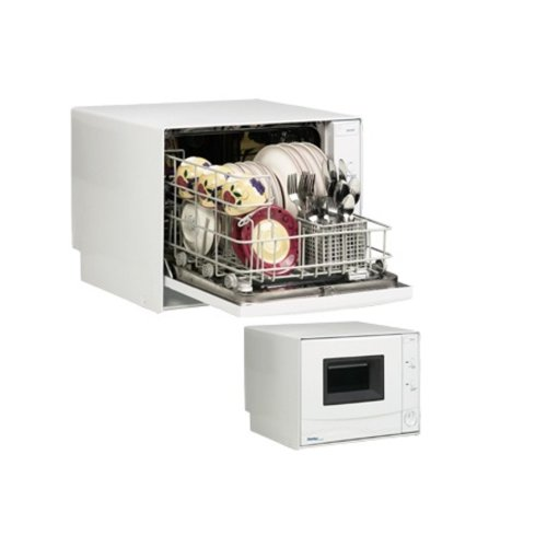 amazoncom danby ddw396w countertop dishwasher 4 place setting capacity appliances