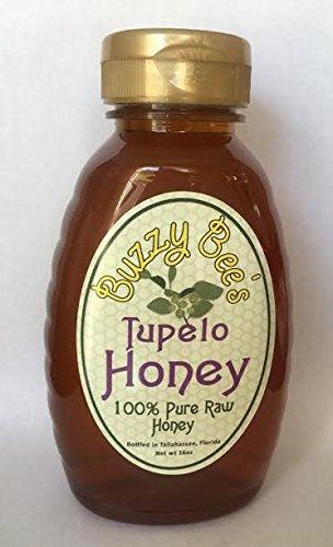 Buzzy Bee's 100% Raw Pure Tupelo Honey 16 ounce