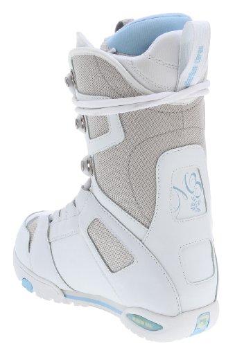 M3 White Snowboard Boots White Womens