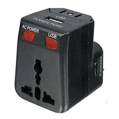 56 opinioni per Fishtec ® Adattatore Universale- da Viaggio / Caricatore USB compatibile in 175
