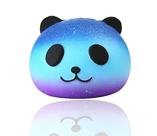 ute Squishies Slow Rising Soft Squishies Scented Charms Toy for Stress Relief and Time Killing(Panda) (Blue Panda)