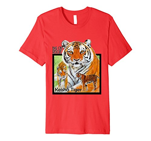 T-shirt Fighting Spirit (Fighting Spirit Keisha Tiger Premium Tee Shirt)
