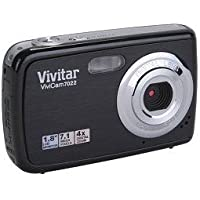 ViviCam 7022 7.1 Megapixel Compact Camera-7.45 mm - Black