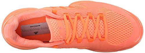 Adidas Performance ASMC barricada 2016 del entrenamiento del calzado, héroe de la tinta púrpura / Ultra Bright Pink/Box Red/White