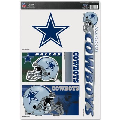 - DALLAS COWBOYS OFFICIAL LOGO 11X17 ULTRA DECAL WINDOW CLING