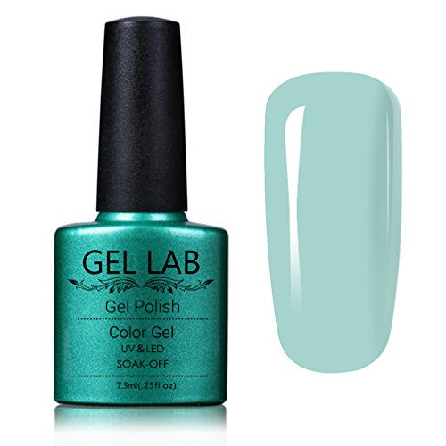 GEL LAB Soak Off UV LED Gel Nail Polish Blue Series 10ml