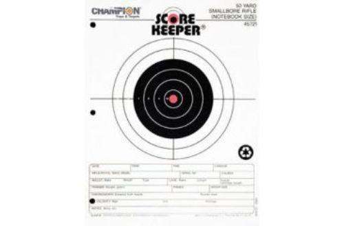(Champion Score Keeper Fluorescent Orange Bull 50-Feet Slow Fire Pistol Target (Pack of 12))