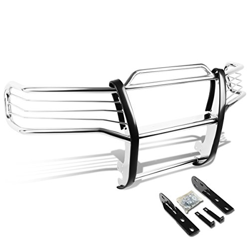 DNA MOTORING GRILL-G-032-SS Front Bumper Brush Grille Guard (Std Rear Bumper)