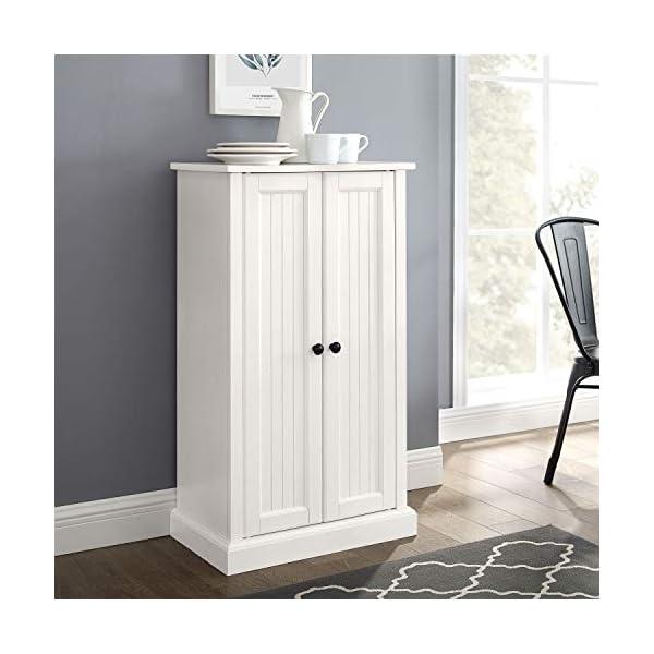 Crosley Furniture Seaside Accent Cabinet, White