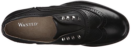 Loafer Black Slip Hunny Shoes Wanted Women's on YwOvBx1Xq