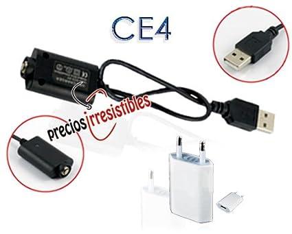 Cable de carga + Cargador red para cigarrillo electrónico ...