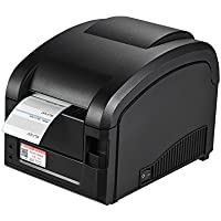 Gprinter GP-3120TL Thermal Printer Adhesive Sticker Barcode Label Graphic Printer High Speed 23-80mm Printing Width for USB POS Computer