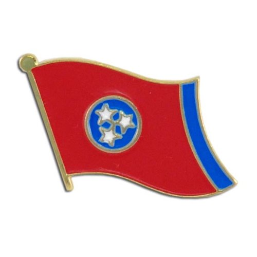 US Flag Store Tennessee Flag Lapel - Tennessee Pin Lapel