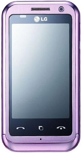 LG Arena KM900 Arena Unlocked Quad-Band Touch Screen Cell Phone with 5MP Camera, Bluetooth, gps navigation and Wi-Fi --International Version with Warranty (Pink)