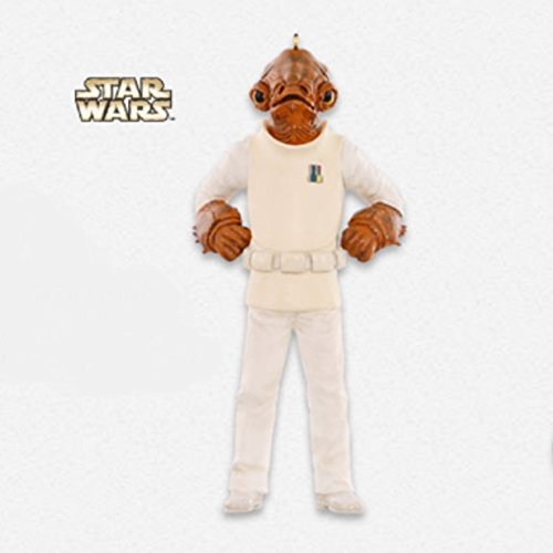 Star Wars : Return of the Jedi - Admiral Ackbar Ornament 2015 Hallmark