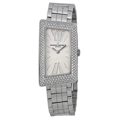 Vacheron Constantin 1972 Plata Dial 18 kt Blanco Oro Damas Reloj 25515u01g-9233: Vacheron Constantin: Amazon.es: Relojes