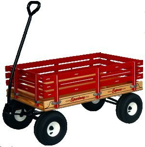 "500 Heavy Duty 22"" x 40"" Work or Play Wagon 1000 # Rated"