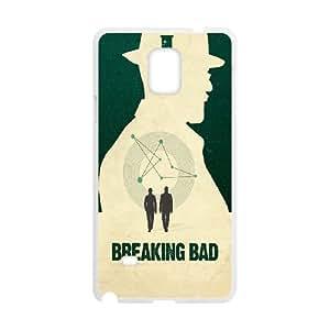 Samsung Galaxy Note 4 Cell Phone Case White Minimal Breaking Bad SLI_556518
