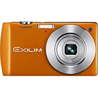 Casio EX-S200EO 14.1MP Digital Camera with 4x Optical Image Stabilized Zoom with 2.7 inch TFT LCD (Orange)