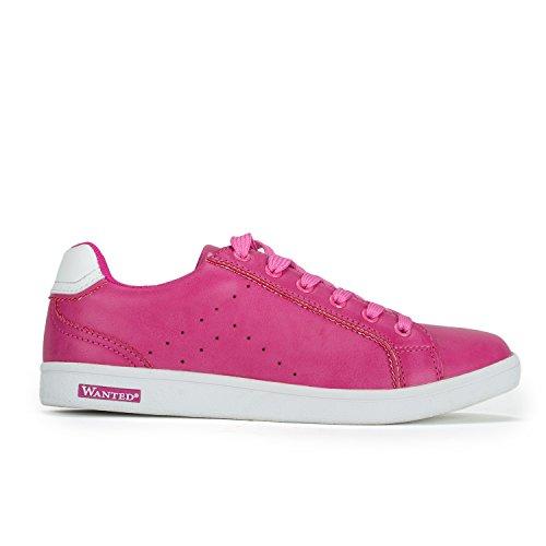 Chaussures De Sport Dorsett Tennis Classique Sneaker Fuchsia