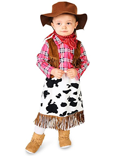 Cowgirl Princess Infant Costume 18-24M