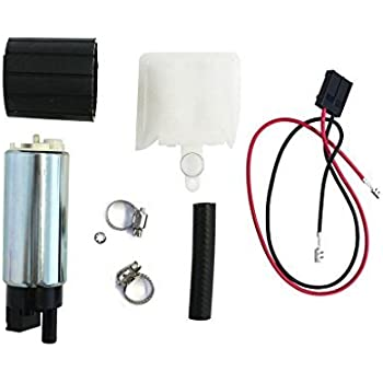 Tank Seals Strainers 255LPH High Performance Electric Fuel Pump /& Install Kit