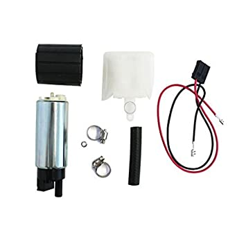 New Fuel Pump Electric  255lph  High Performance Plus Install Kit  # 1