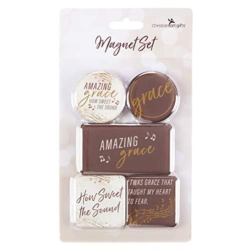 - Amazing Grace 5-Piece Magnet Set