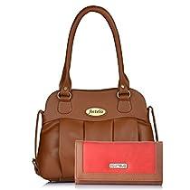 Fostelo Priscila Womens Handbag Tan