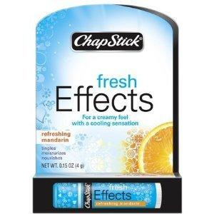 Chapstick Fresh Effects Lip Balm, Refreshing Mandarin