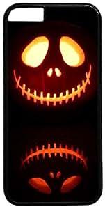 Holidays Halloween Pumpkin Jack-o'-lantern Jack Skellington Nightmare Before Christmas iPhone 6 Case iPhone 6 Cover Apple 6 Case by supermalls