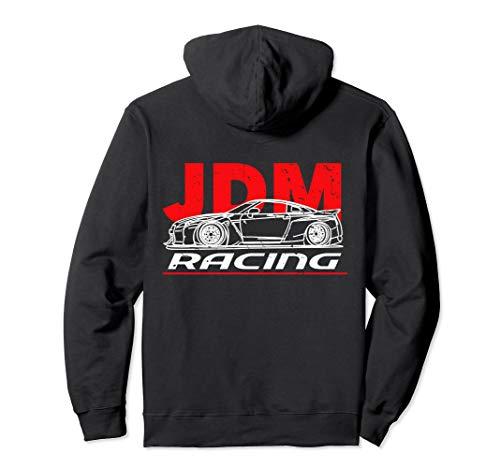 JDM Racing Hoodie. Japanese Street Car Drifting JDM Logo - Hoodie Car