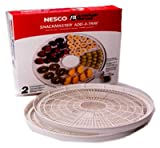 Nesco Add-A-Tray For Model No. Fd-37 Dehydrator 2/Box Speckled Gray
