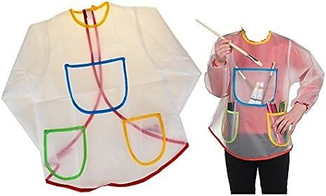 Delantal camisa plastificado antimanchas de dibujo pintura ...