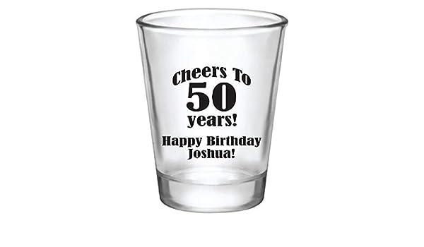 Amazon Com Birthday Shot Glasses Birthday Party Favors Milestone